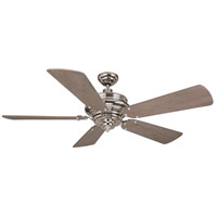 Craftmade K11021 Townsend 54 inch Polished Nickel with Heavy Distressed Aged Pine Blades Ceiling Fan Kit in Light Kit Sold Separately, Heavy Distressed Premier Aged Pine
