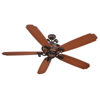 Seville Espana 68 inch Spanish Bronze with Walnut Blades Ceiling Fan With Blades Included in Seville Walnut, Solid Wood Blades, Custom Carved