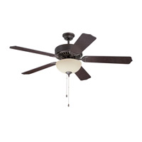 Craftmade K11104 Pro Builder 202 52 inch Aged Bronze Textured with Aged Bronze Blades Ceiling Fan Kit in Contractor Standard Blades Included