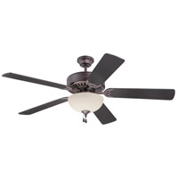 Pro Builder 202 52 inch Oiled Bronze Ceiling Fan With Blades Included in Contractor Plus