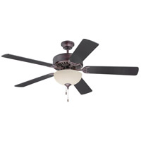 Pro Builder 208 52 inch Oiled Bronze Ceiling Fan With Blades Included in Contractor Plus