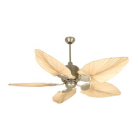 Craftmade Kona Bay Ceiling Fan With Blades Included in Brushed Satin Nickel K11148