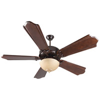 Craftmade Presidential II Ceiling Fan With Blades Included in Oiled Bronze K11153