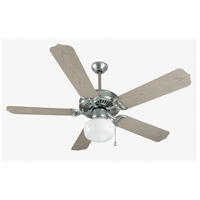 Craftmade K11154 Porch 52 inch Galvanized Steel with Weathered Pine Blades Outdoor Ceiling Fan Kit in 52