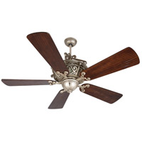 Craftmade K11169 Toscana 54 inch Athenian Obol with Hand-Scraped Walnut Blades Ceiling Fan Kit in Light Kit Sold Separately Premier Hand-Scraped