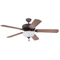 Craftmade K11199 Pro Builder 201 52 inch Oiled Bronze with Washed Walnut Birch Blades Ceiling Fan Kit in Contractor Plus Washed Walnut Birch, Blades Included
