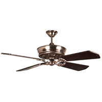 Craftmade K11235 Monroe 56 inch Tarnished Silver with Walnut and Vintage Madera Blades Ceiling Fan Kit in 56