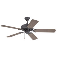 "Craftmade K11240 Porch 52 inch Oiled Bronze with Weathered Pine Blades Outdoor Ceiling Fan Kit in 52"" Light Kit Sold Separately Outdoor Standard"