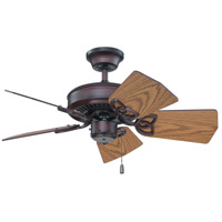 Craftmade K11243 Piccolo 30 inch Oiled Bronze with Dark Oak Blades Ceiling Fan Kit in Light Kit Sold Separately