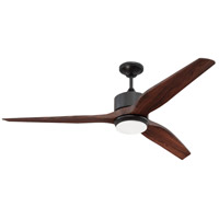 Craftmade K11291 Mobi 60 inch Oiled Bronze with Mahogany Blades Ceiling Fan Kit, Blades Included