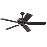 Craftmade K11294 Pro Energy Star 52 inch Oiled Bronze Ceiling Fan Kit, Blades Included