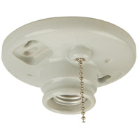 Craftmade K858-SO Signature 1 Light 4 inch Porcelain Lamp Holder Ceiling Light