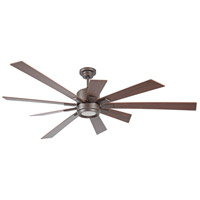 Craftmade KAT72ESP9 Katana 72 inch Espresso with Walnut Blades Ceiling Fan