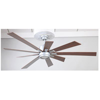 Craftmade KAT72TI-72WLN Katana 72 inch Titanium with Walnut Blades Indoor Ceiling Fan Kit