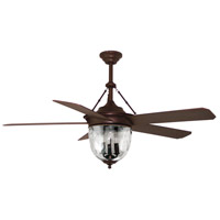 Craftmade KM52ABZ5LKRCI Knightsbridge 52 inch Aged Bronze with Special Aged Bronze ABS Blades Outdoor Ceiling Fan