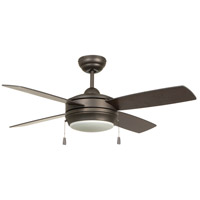 Craftmade LAV44ESP4LK-LED Laval 44 inch Espresso with Reversible Espresso and Dark Walnut Blades Ceiling Fan, Blades Included