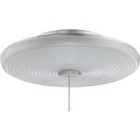 Craftmade LK105-BNK-LED Elegance LED Brushed Polished Nickel Fan Bowl Light Kit Universal Mount