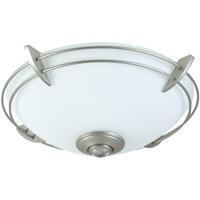 Craftmade Modern LED Brushed Polished Nickel Fan Light Kit