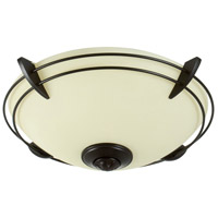 Craftmade Modern Metal Rim  Bowl 2 Light Light Kit in Oiled Bronze LK207CFL-OB