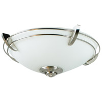 Craftmade Modern Metal Rim  Bowl 2 Light Light Kit in Stainless Steel LK207CFL-SS