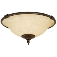 Craftmade Metal Rim Economy  Bowl 2 Light Light Kit in Aged Bronze LK24CFL-AG