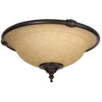 Craftmade Metal Rim Economy  Bowl 2 Light Light Kit in Oiled Bronze LK24CFL-OB