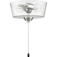 Craftmade LK2802-BNK-LED Universal Bowl Light Kit LED Brushed Polished Nickel Fan Light Kit