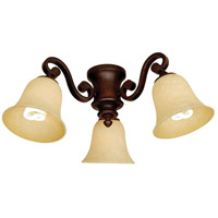 Craftmade Scroll Arm  2 Light Light Kit in Oiled Bronze LK35CFL-OB
