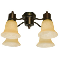 Craftmade Spot Light 4 Light Light Kit in Oiled Bronze LK402CFL-OB