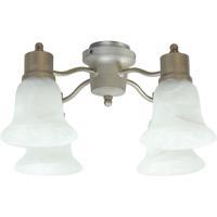 Craftmade LK403-BN-LED Universal LED Brushed Satin Nickel Fan Light Kit Bell