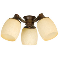Craftmade Woodward  3 Light Light Kit in Aged Bronze LK47CFL-AG