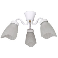 Ellington by Craftmade Tahiti Light Kit in Matte White LK483MWW