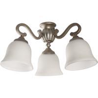 Craftmade LK50-AO-WG-LED Universal LED Athenian Obol Fan Light Kit in White Frosted Glass Bell