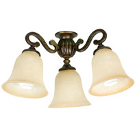Craftmade Arm La Tour 3 Light Light Kit in Peruvian LK50CFL-PR