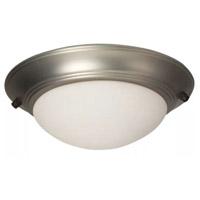 Craftmade Bowl LED Brushed Satin Nickel Fan Light Kit Universal Mount