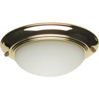 Craftmade LKE53-PB-LED Bowl LED Polished Brass Fan Light Kit