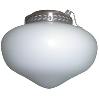 Ellington by Craftmade Schoolhouse Bowl 1 Light Light Kit in Brushed Nickel LKG1BNK