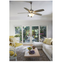 Craftmade CN52W5 Copeland 52 inch White with Reversible White Blades Ceiling Fan in White Frosted Glass, Blades Included alternative photo thumbnail
