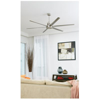 Craftmade MND72BNK6 Mondo 72 inch Brushed Polished Nickel with Brushed Nickel Blades Ceiling Fan alternative photo thumbnail