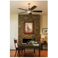 Vesta 60 inch Oiled Bronze with Reversible Oiled Bronze and Mahogany Blades Ceiling Fan in 7, Blades Included