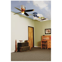 Craftmade WB448GG4 WarPlanes 44 inch WarPlanes Glamorous Glen with War Plane Blades Ceiling Fan in Cased White Glass, Blades Included alternative photo thumbnail