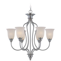 Craftmade 26326-SN Linden Lane 6 Light 28 inch Satin Nickel Chandelier Ceiling Light alternative photo thumbnail