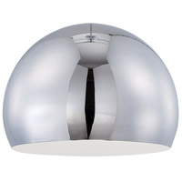 Design A Fixture Chrome 8 inch Mini Pendant Shade