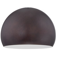 Jeremiah by Craftmade Design-A-Fixture Shade in Grunge Rust M12GR