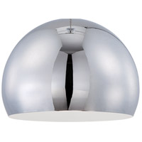 Jeremiah by Craftmade Design-A-Fixture Shade in Chrome M13CH