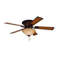 Ellington by Craftmade Meyerson 3 Light 54-in Indoor Ceiling Fan in Oil Rubbed Bronze MEY54ORB5C1