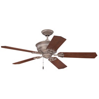 Craftmade K11230 Monaghan 52 inch Athenian Obol with Walnut Blades Ceiling Fan in Plywood Blades, 52