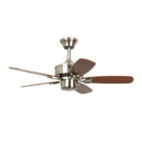 Ellington by Craftmade Maxwell 36-in Indoor Ceiling Fan in Brushed Nickel MXW36BNK5