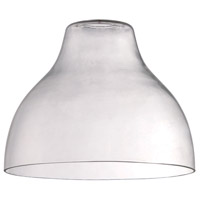 Design A Fixture Clear 10 inch Mini Pendant Glass in Clear Glass