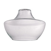 Craftmade N553C Design-A-Fixture Clear 11 inch Mini Pendant Glass in Clear Glass alternative photo thumbnail